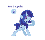 Star Sapphire by Lady-Felicity