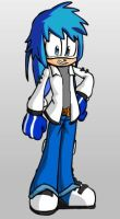Shining Armor as a Sonic Character by cartoonfan22