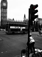 London Arch. 2 -Big Ben by CatchingFear