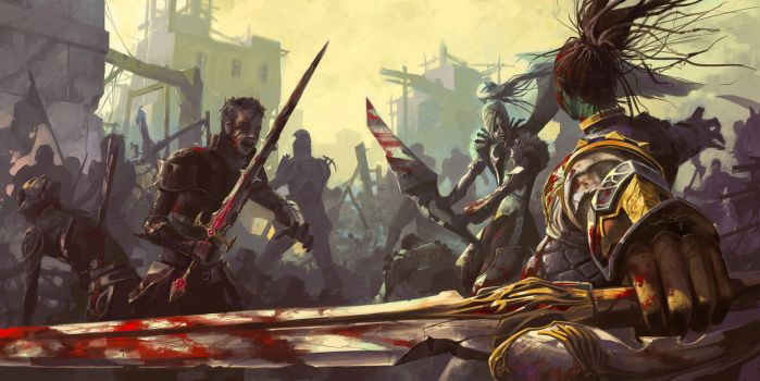 Bloody PvP Lineage 2 by fear-sAs