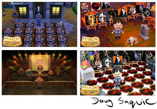 Animal Crossing art Freddy,Jason,Michael and more by DougSQ