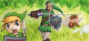 Sketch Card: Link, Link..Link? by ChrispyDee