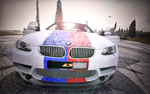 BMW M3  blue and red by Artsoni3D