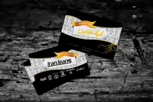 Iran Jeans Business Card by MeyGraph