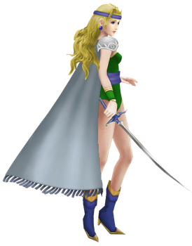 Celes Chere Alt 1 ~ DISSIDIA 012 by AndsportsART