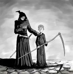 Mort and Death by Flick-the-Thief