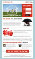 Home Insurance Landing page by semantic123