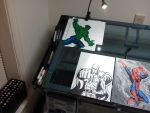 Office Drawing Table by Lpsalsaman
