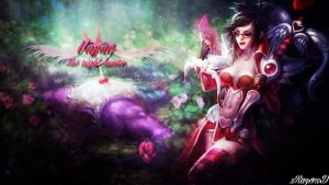 LoL - HeartSeeker Vayne Wallpaper ~xRazerxD by xRazerxD