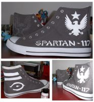 Spartan Shoes by OminoFocaccina