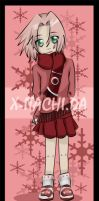 Winter - Sakura by x-itachi