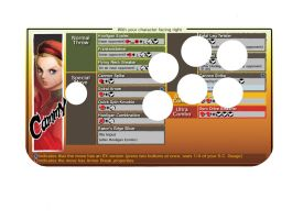 Hori Ex2 Cammy Movelist decal by ThornBlackstar
