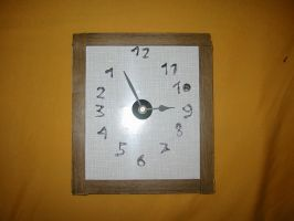 Backwards running clock by Hour-glass9494