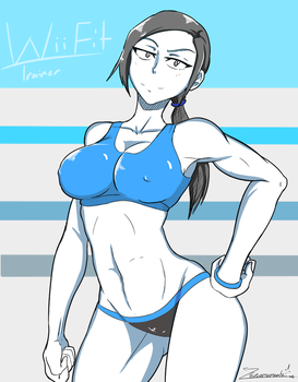 Wiifitpinup by ZeroMomentai