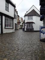 Cobbled Street by soXsiting