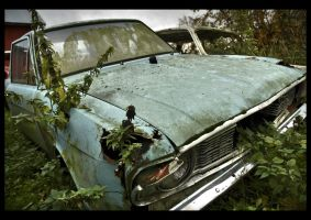Dead cars I by Amalgamax