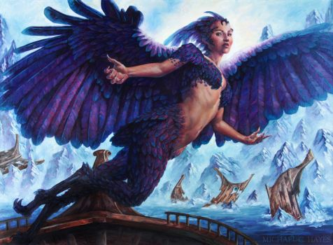 Siren of the Fanged Coast by Michael-C-Hayes