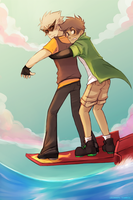 Skate by ikimaru-art