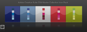 Adobe CS4 Dock Icon Pack by e-Quinox