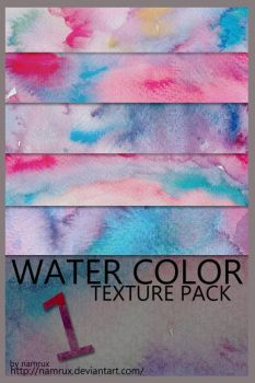 water color texture pack0101 by namrux