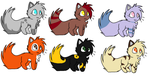 Pretty Kitty Adopts~! by Cottoncandycat12