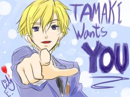 Tamaki Wants You XD by 6Lily8Evans9
