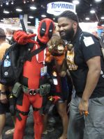 Deadpool and Avarice Monkey by pa68