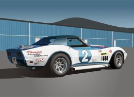 Corvette Race Car by Rikko40