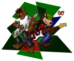 Rockin' with My Bro by Meteor-05