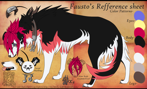 Fausto's refference sheet by Roneri