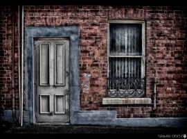 The white door by shadowfoxcreative