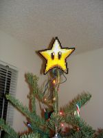 Our Super Awesome Tree Topper by SpringDasie