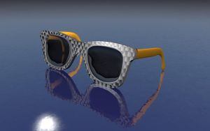 Ray Ban Carbon Gold by BadCrank