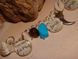 Blue Jacob Black Bracelet by bitemekthx