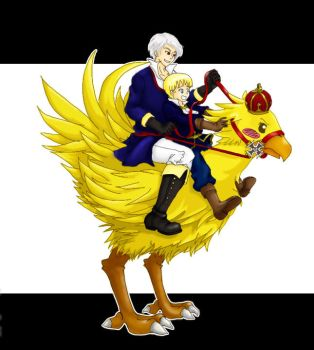 APH: Awesome like a chocobo by sw33t-hobbit