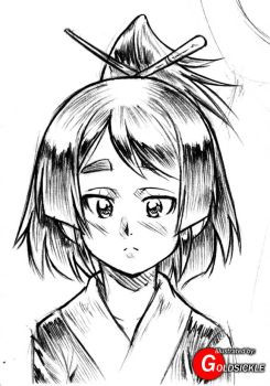 Random Kunoichi by Goldsickle