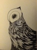 Zen tangle owl 3 by saly1002