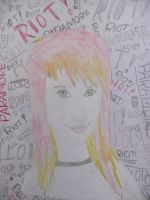 Hayley Williams Drawing by chloesmith8