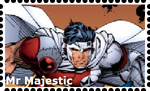 Mr Majestic Stamp by WOLFBLADE111