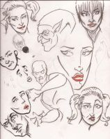 Many Face Concept by Lorredelious
