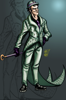 Riddle Me This Digital Color by ArtistaJPEntrenando