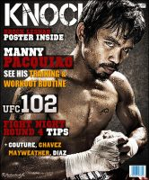 Knockout Magazine Cover by rjartwork