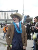 Tenth Doctor on holiday by aragornsgirl333
