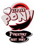 Commission MLP Logo - Purgatory is Best Pony by MLPBlueRay