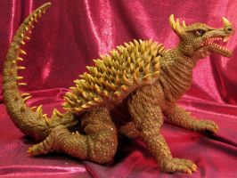Anguirus or Angilas by godzillabadger