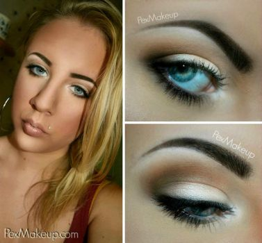 Contouring and Neutral Eyes by PexMakeUp