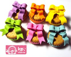 cookie ribbon boxes closed by KPcharms