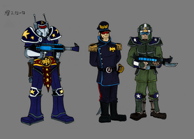 Soldiers of Alpha Centauri by Mara999