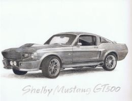 Shelby Mustang GT500 by smile4thelie