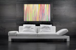 Abstract Oil Painting by CoreyBrown